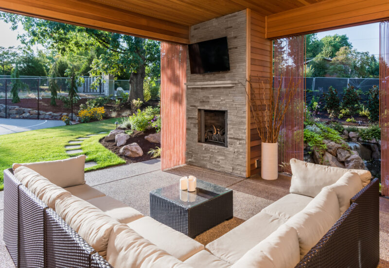 Get ready to entertain this summer on your updated patio! Get inspired by these five backyard patio landscaping ideas and start working!