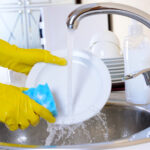 It's important to properly clean your dishes before you use them again. Our guide here explains how to wash dishes effectively.